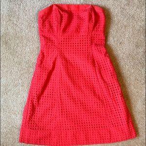 Whitehouse Black Market strapless dress 6